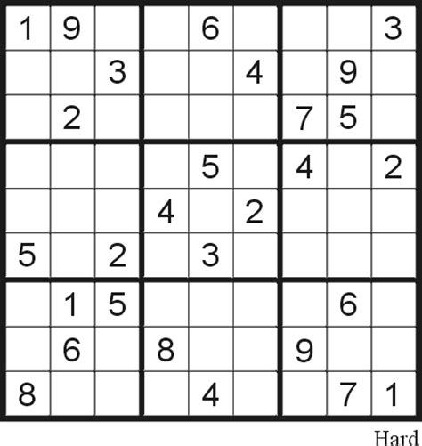 printable sudoku medium level image gallery hard sudoku puzzles