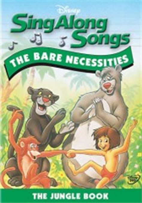 Paket Dvd Cd Original Sing Along Songs With Dibo sing along songs the bare necessities the jungle book dvd review