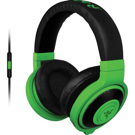 Headset Bluetooth Razer razer kraken mobile headphones neon green rz04 01400100 r3u1