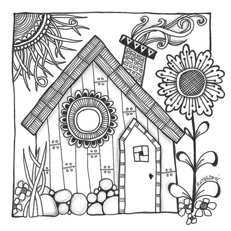 cottage house coloring pages 80 best images about cottage colouring pages on pinterest