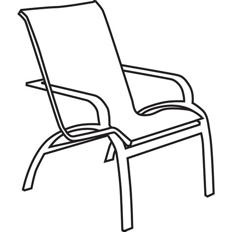Lawn Chair Drawing at GetDrawings.com   Free for personal