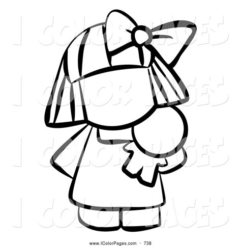 coloring pages vector vector coloring page of a black and white human factor