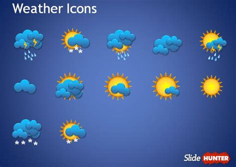 weather report template free weather forecast powerpoint template free