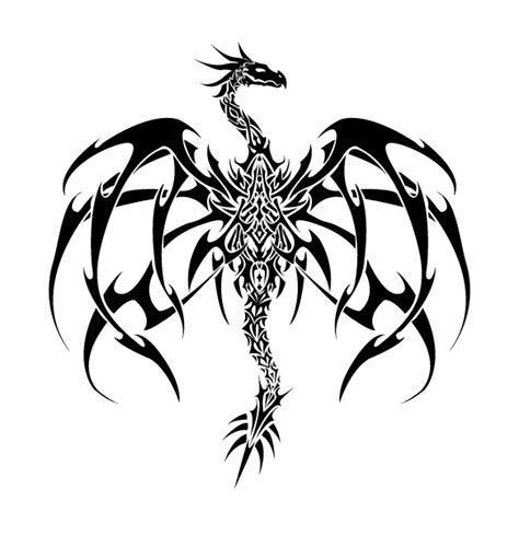 tattoo dragon original original dragon tattoo vector by valliantcreations on