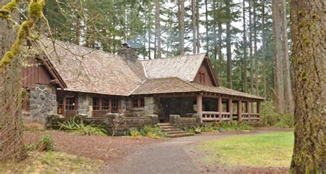 Silver Falls Cabins by Silver Falls State Park Oregon State Parks And Recreation