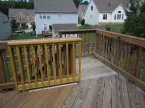 my 2 jobs diy a sliding gate for my deck