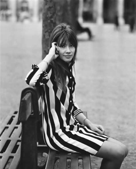 françoise hardy noir sur blanc les 616 meilleures images du tableau parisian chic sur