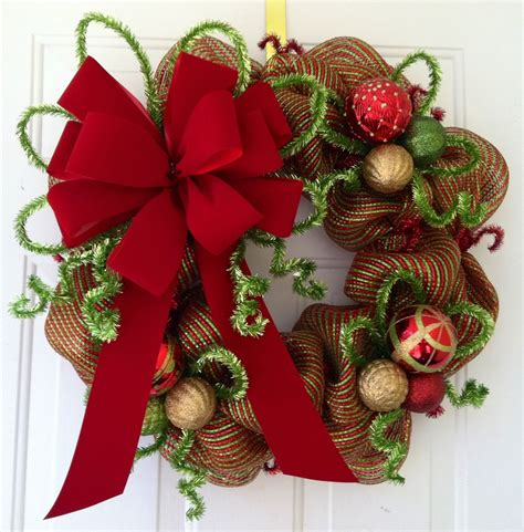 how to decorate with wide ribbon on xmas trees image of decoration with wreath with ribbon fantastic home interior