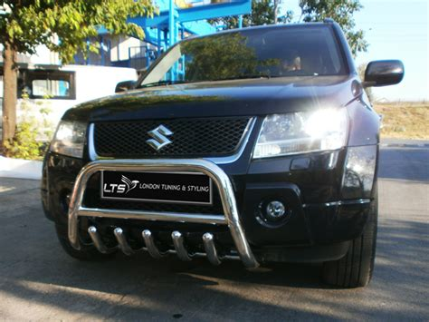 Suzuki Nudge Bar Suzuki Grand Vitara Chrome Axle Nudge A Bar Bull Bar 2011