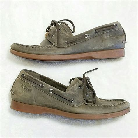 clarks banana boat shoes 77 off clarks shoes clarks leather distressed boat
