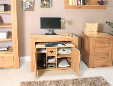 palma solid chunky oak furniture home office pc