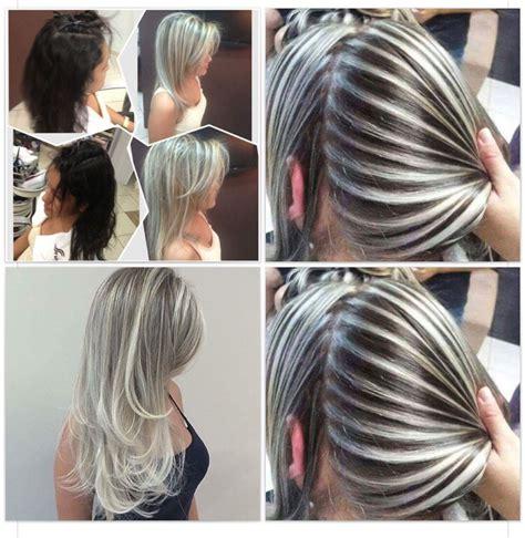 corto con mechas en pinterest mechas blancas mechas beige y mechas rayitos peinados pinterest rayo cabello y mechas