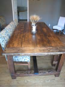 How To Make A Rustic Dining Room Table Diy Friday Rustic Farmhouse Dining Table