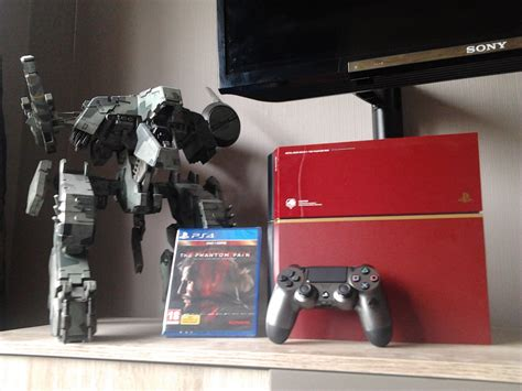 ps4 themes metal gear solid limited edition metal gear solid 5 ps4 by bluethunder66 on