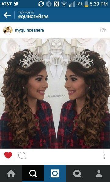 hairstyles for sweet 15 17 best images about hairstyles xv quinceanera ideas