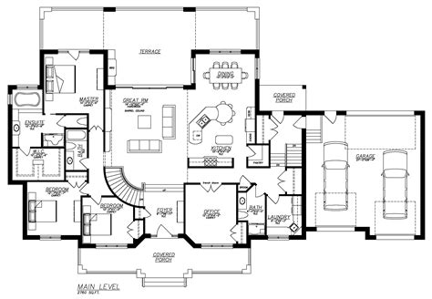 Ranch Style Home Floor Plans With Basement Ranch Style House Plans With Full Basement