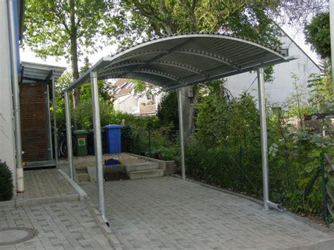 carport stahl verzinkt schlosserei spenglerei schmidtkunz