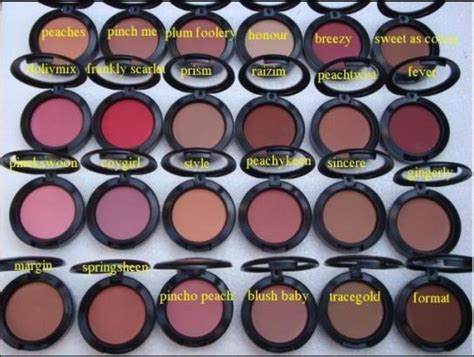 Mac 8 Color Eyeshadow 2 Color Blush 8213 image gallery mac blush colors