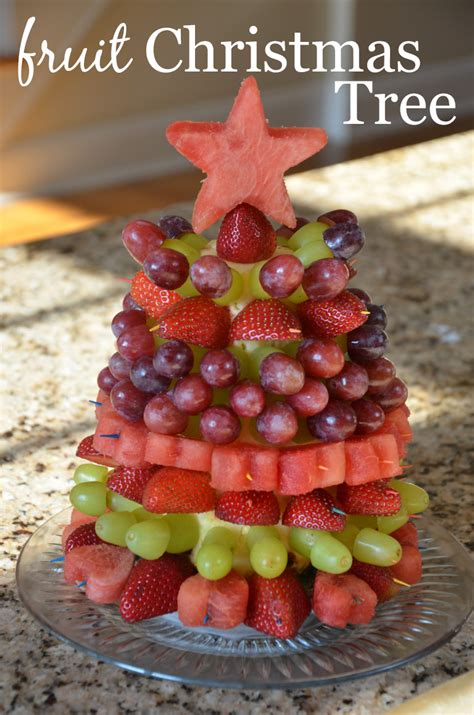 how to make christmas fruits fruit tree tutorial project nursery