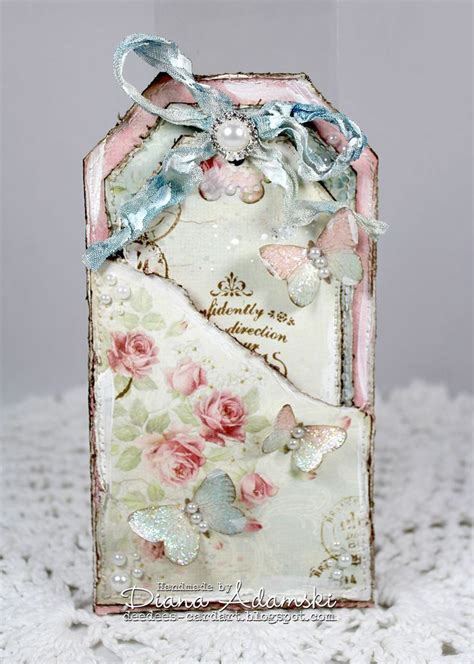 Handmade Shabby Chic - best 25 handmade gift tags ideas on