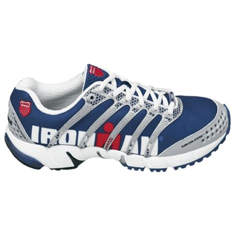ironman running shoes k swiss k ona s ironman s blue white running