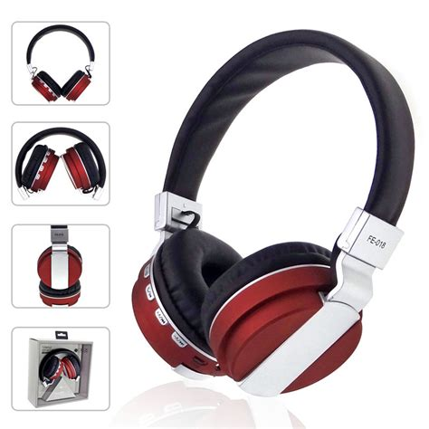 Headset Bluetooth Mega Bass Fe 018 Bluetooth 4 0 Mega Bass Stereophonic Headphone