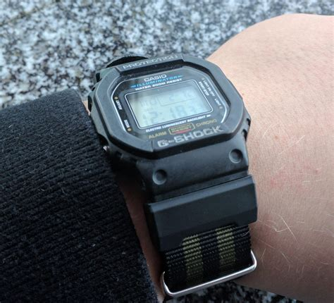 casio dw 5600 casio dw 5600 on a nato watches