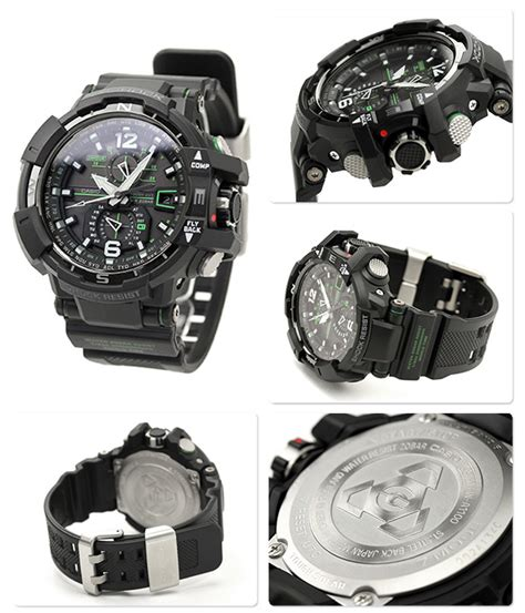 Jam Tangan G Shock Aviation casio gw a1100 1a3 watches casio g shock watches at bodying my