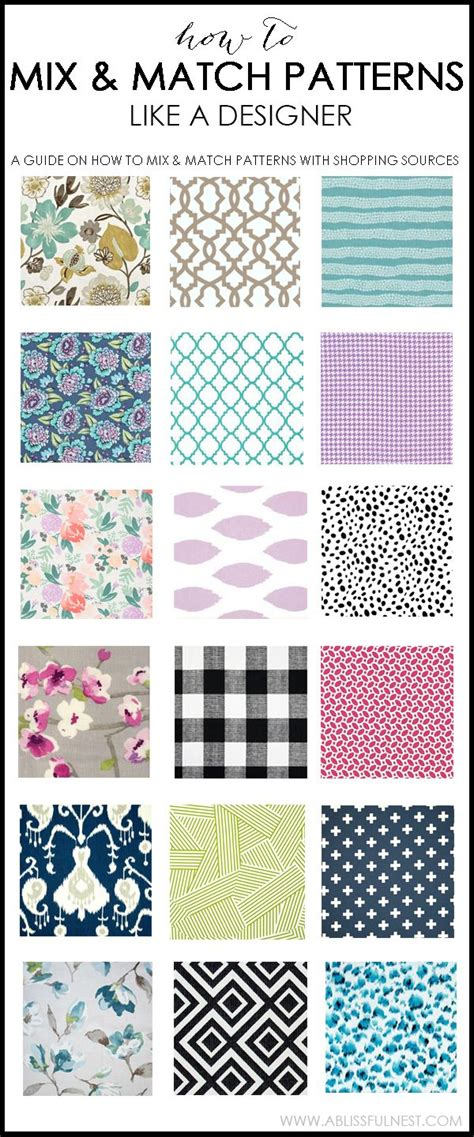 pattern mixing best 25 mixing patterns decor ideas on pinterest fabric
