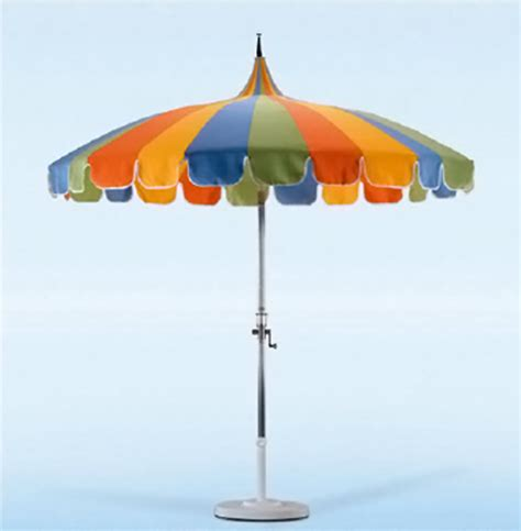 Pagoda Patio Umbrella California Umbrella Pagoda Styled Patio Umbrella 8 6 Quot