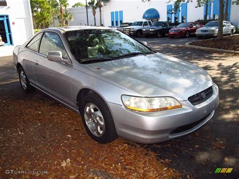 2000 honda accord coupe silver 2000 satin silver metallic honda accord ex l coupe