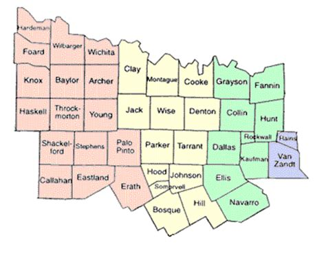 map of central texas counties area map central texas birds