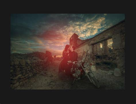 Tutorial Photoshop Sunset | dramatic sunset photoshop tutorial psd stack