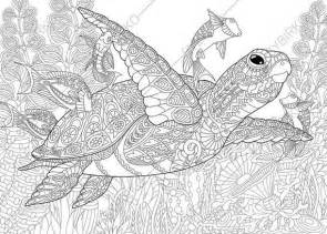 marvelous sea turtles coloring book for adults stress relief coloring book for grown ups books 25 best ideas about coloring pages on