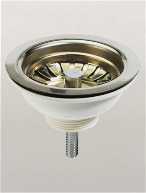 kitchen sink waste strainer kitchen sink basket strainer waste in chrome