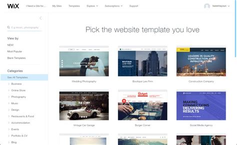 wix templates for wix review read it to find out the features and advantages