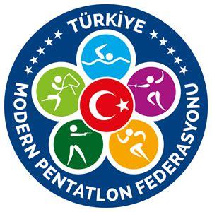tmpf tuerkiye modern pentatlon federasyonu  logo