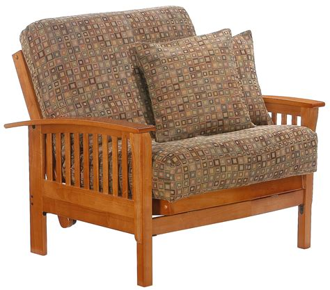 futon armchair twin futon chair design options homesfeed