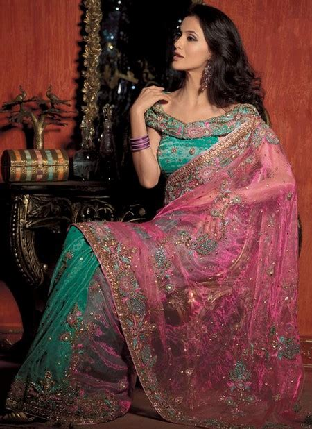 Gaun Sari India Trend Fashion Gaun Sari Elegan Khas India