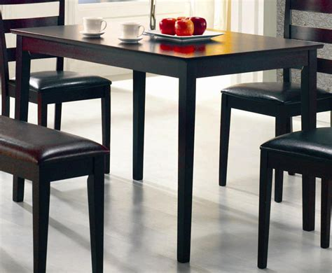 coaster fine furniture 150232ii 5 piece dining set the mine coaster taraval 5 piece rectangular dining set 150232 at