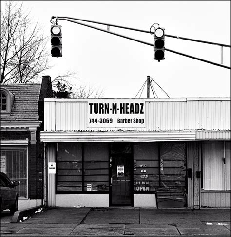 tattoo shops fort wayne turn n headz barbershop in fort wayne photograph by
