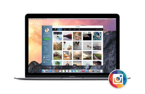 layout instagram mac instagram for mac os x on behance