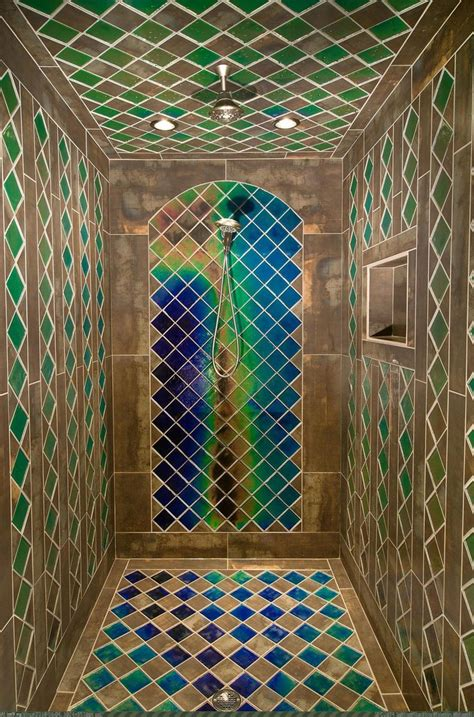 heat sensitive tiles 10 showers for luxury bathroom
