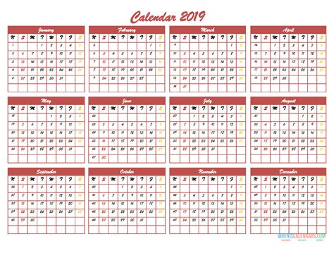 month calendar template   page  image excel  printable  monthly