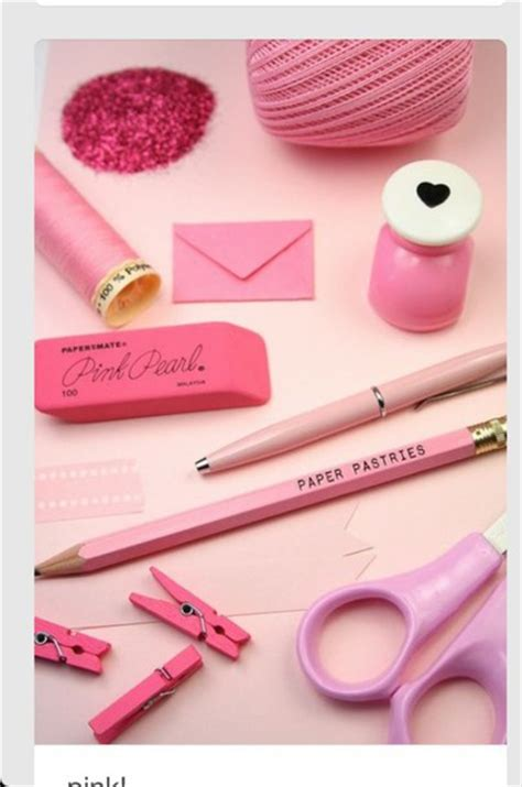 Office Supplies Girly Home Accessory Girly Desk Office Supplies Pink