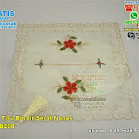 Taplak Meja Kotak Silver taplak bordir serat nanas jumbo souvenir pernikahan