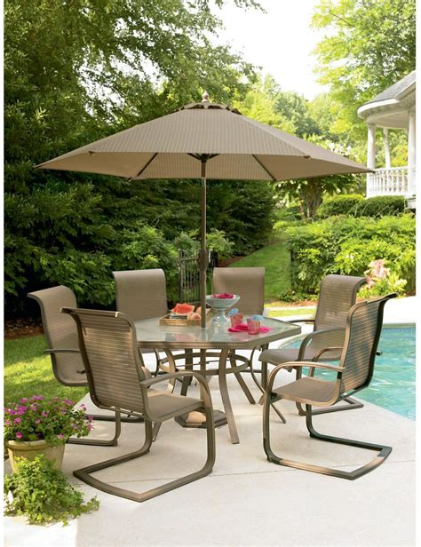 Furniture Piece Dining Set Perfect For Any Outdoor Dining Patio Table And Chairs For Sale