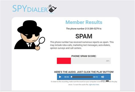 Phone Lookup Spam Spydialer Launches S Lookup For Phone Spam According To Ceo