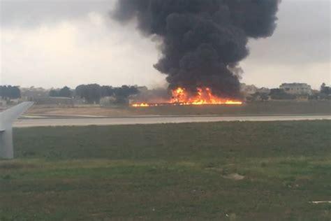 Malta Plane Crash Crew Members Among Five Killed In Crash