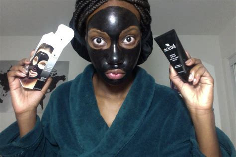 Masker Boscia impressions boscia luminizing black mask peel